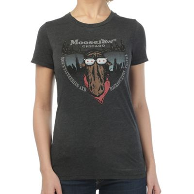Moosejaw Women's Classic Moose Chicago Tee
