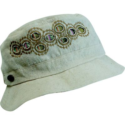Turtle Fur Women's Nepal Lhotse Lightweight Reversible Hemp Bucket Hat