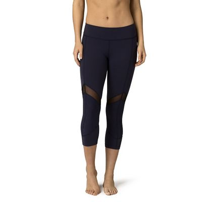 Beyond Yoga Women's Quilted Arrow Mesh Capri