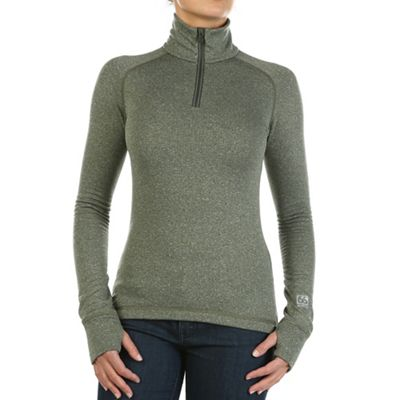 66North Women's Grimur Powerwool Zip Neck Top