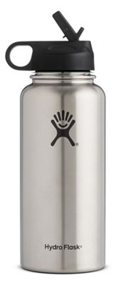 Hydro Flask 32oz Wide Mouth Insulated Bottle with Straw Lid