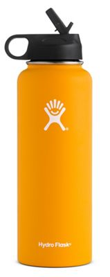 Hydro Flask 40oz Wide Mouth Insulated Bottle with Straw Lid