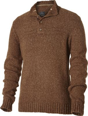 Royal Robbins Men's Sequoia Button Mock Sweater