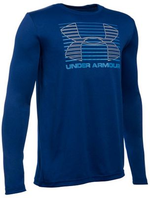 Under Armour Boys' Breakthrough Logo LS Tee