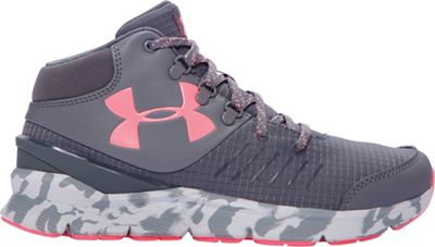 Under Armour Girls' UA GGS Overdrive Mid Marble Boot