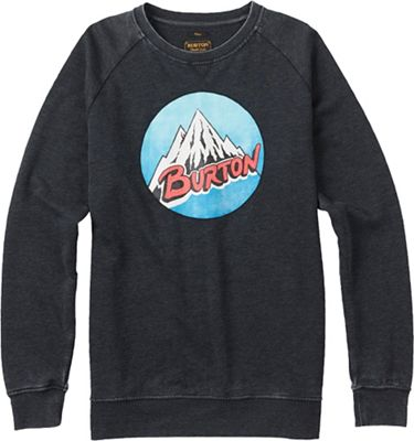 Burton Men's Retro Mountain Crew Sweatshirt