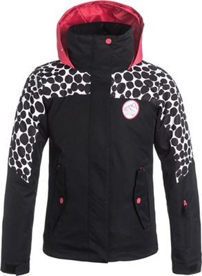 Roxy Girl's Jetty Color Block Jacket