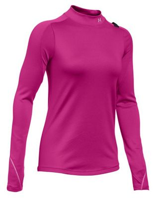 Under Armour Women's ColdGear Armour Elements Mock Neck Top