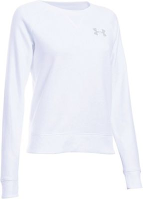 Under Armour Women's Favorite Fleece Crew Neck Top
