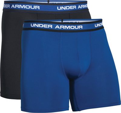 Under Armour Men's Performance Mesh 6IN Boxer Short - 2 Pack