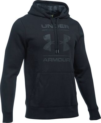 Under Armour Men's Rival Camo Blocked Logo Pullover Hoodie