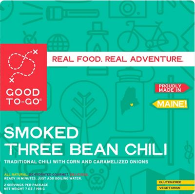 Good To-Go Smoked Three Bean Chilli - Double Serving