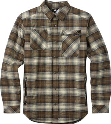 Burton Men's Analog Bowery Quilted Flannel Shirt