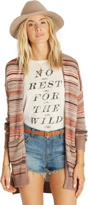 Billabong Women's Stripes Over You Cardigan