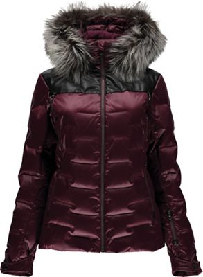 Spyder Women's Falline Real Fur Down Jacket