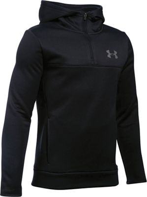 Under Armour Boys' Armour Fleece Storm 1/4 Zip Hoodie
