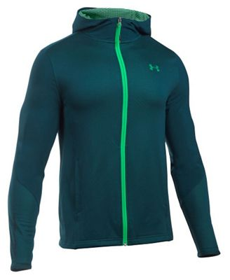 Under Armour Men's ColdGear Infrared Raid Fitted Full Zip Hoody