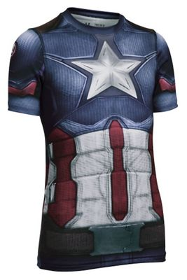 Under Armour Boys' Captain America SS Suit