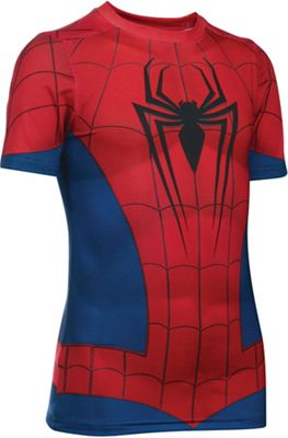 Under Armour Boys' Spiderman SS Suit