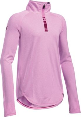 Under Armour Girls' Tech Novelty 1/4 Zip Top