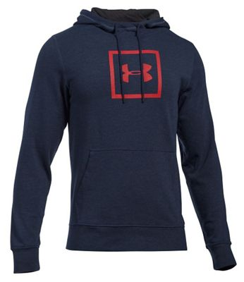 Under Armour Men's Triblend Squared Logo Pullover Hoodie