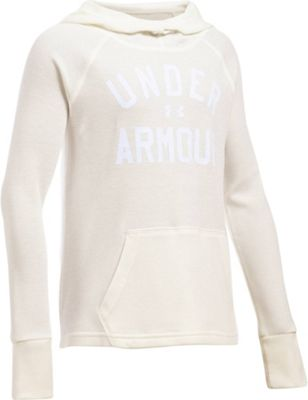 Under Armour Girls' Waffle Hoody