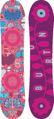 Burton Kids' Chicklet Snowboard