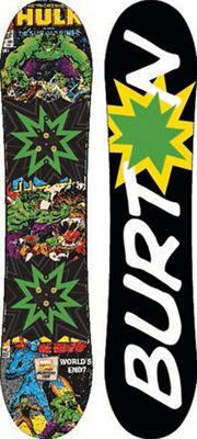 Burton Kids' Chopper LTD Marvel Snowboard