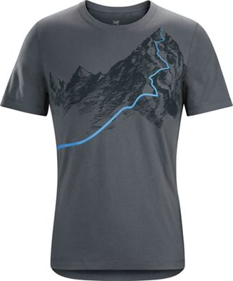 Arcteryx Men's Afterglo Heavyweight SS T-Shirt