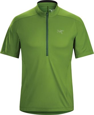 Arcteryx Men's Velox Zip SS Neck Top