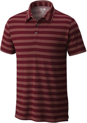Mountain Hardwear Men's ADL Stripe SS Polo Top