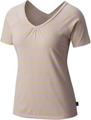 Mountain Hardwear Women's Dryspun Stripe SS Top