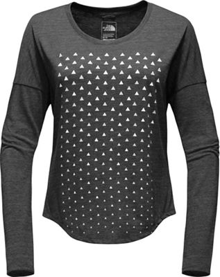The North Face Women's Confetti Tri-Blend LS Tee
