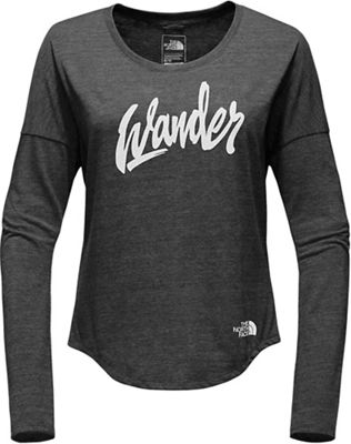 The North Face Women's Wander Tri-Blend LS Tee