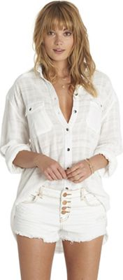 Billabong Women's Easy Moves Solid Shirt