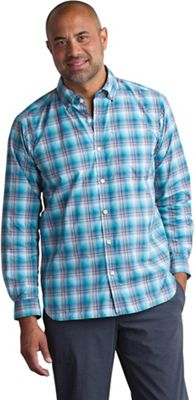 ExOfficio Men's Sol Cool Leman Plaid LS Shirt