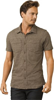 Prana Men's Gaines Button Front SS Shirt
