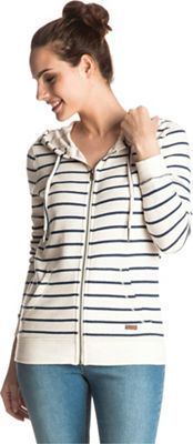 Roxy Women's Signature Stripe Zip Up Hoodie