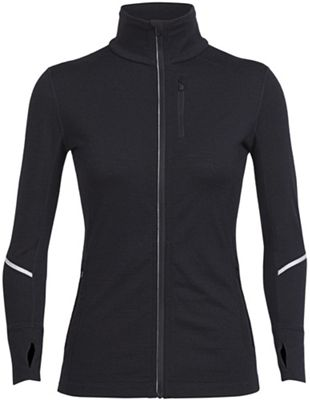Icebreaker Women's Rush LS Zip Top