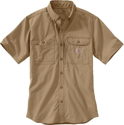 Carhartt Men's Force Ridgefield Solid SS Shirt