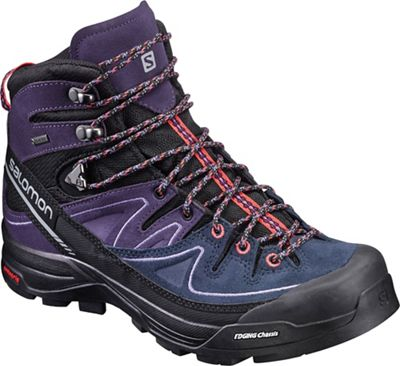Salomon Women's X Alpine Mid Leather GTX Boot