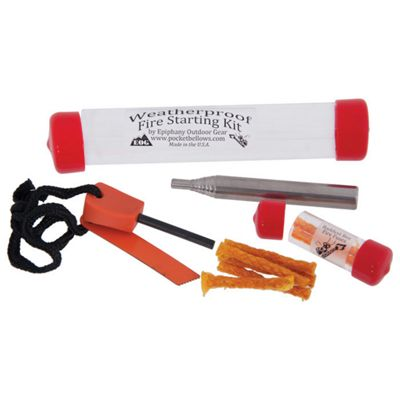 Epiphany Outdoor Gear Bellows Fire Starting Kit