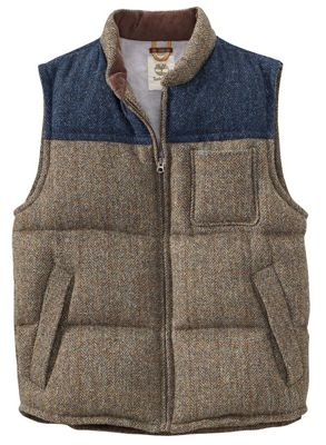 Timberland Men's Bolton Mountain Down Vest