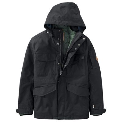 Timberland Men's DryVent 3-in-1 Waterproof Field Jacket