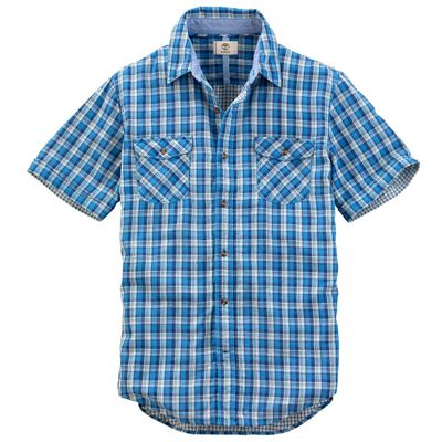 Timberland Men's SS Hubbard River Double Layer Shirt