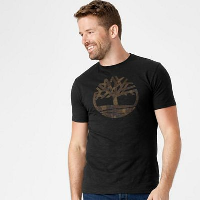 Timberland Men's Kennebec Camo Tree SS Tee