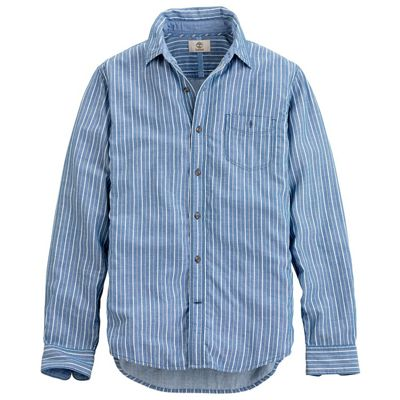 Timberland Men's Long Sleeve Parker River Double Layer Shirt