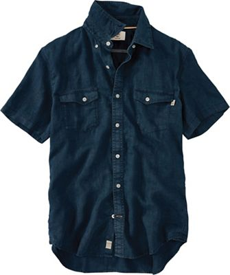 Timberland Men's Mill River Linen Cargo SS Shirt