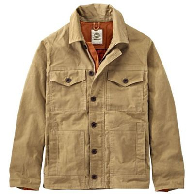 Timberland Men's Mt Davis Waxed Canvas Chore Coat