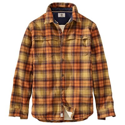 Timberland Men's Sherpa Lined Overshirt